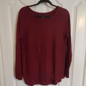 American Eagle Burgundy oversized Sweater M